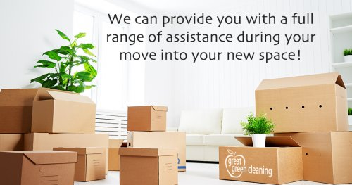 We provide move-in cleaning and move-out cleaning help.